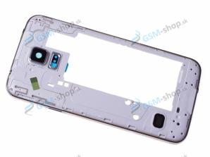 Stred Samsung Galaxy S5 Neo G903F strieborný Originál