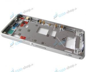 Stred Sony Xperia Z1 Compact D5503 biely Originál