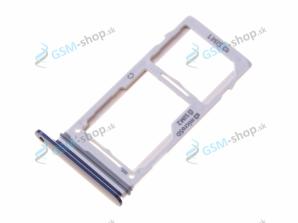 SIM a SD držiak Samsung Galaxy Note 9 Duso (N960FD) modrý Originál