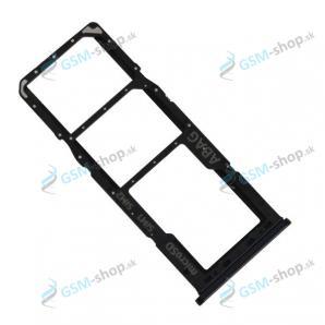 SIM a SD držiak Samsung Galaxy A20s (A207) čierny Originál