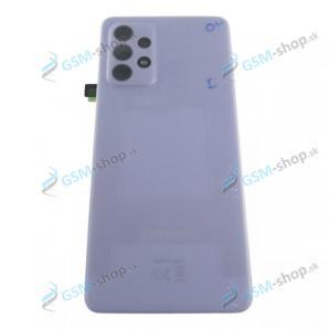 Kryt Samsung Galaxy A52, A52 5G batérie fialový Originál