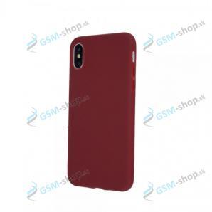 Púzdro silikón iPhone 7, 8, SE 2020 Burgundy