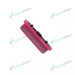 Tlačidlo Samsung J415, J610 bočné ružové Originál