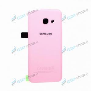 Kryt Samsung Galaxy A3 2017 (A320) batérie ružový Originál