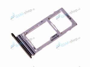 Sim a microSD držiak Samsung S9 Plus (G965) čierny Originál