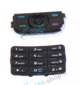 Klávesnica Nokia 5200, 5300 malá a veľká čierna Originál