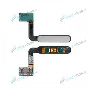 Flex Samsung Galaxy Fold (F900) a snímač odtlačku strieborný Originál