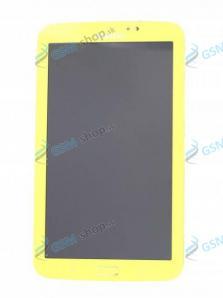 LCD Samsung T210 a dotyk žltý s krytom Originál