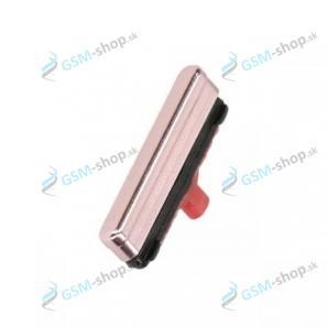 Tlačidlo zapínania Samsung Galaxy S21 5G, S21 Plus 5G fialové Originál