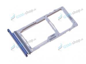 Sim a microSD držiak Samsung Galaxy S10 Lite (G770) modrý Originál