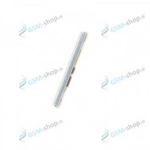 Tlačidlo Samsung Galaxy A70 (A705) pre hlasitosť biele Originál