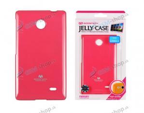 Púzdro silikón JELLY Samsung Galaxy S4 (i9505) ružové