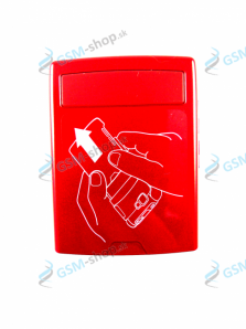 Kryt Nokia N76 batérie červený Originál