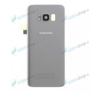 Kryt Samsung Galaxy S8 Plus (G955) batérie strieborný Originál