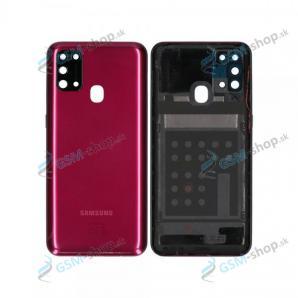 Kryt Samsung Galaxy M31 (M315) batérie červený Originál