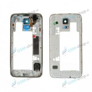Stred Samsung Galaxy S5 G900F čierny Originál