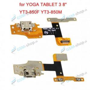 Flex Lenovo Yoga Tab 3 8.0 YT3-850L pre nabíjanie OEM