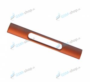 Kryt Sony Xperia Z3 Compact D5803 bočný oranžový Originál