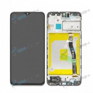 LCD displej Samsung Galaxy M20 (M205) a dotyk s krytom čiernym Originál