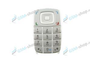 Klávesnica Nokia 6101 biela Originál