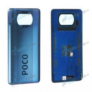 Kryt Xiaomi Poco X3 NFC zadný modrý Originál