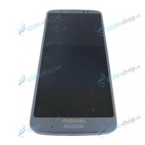 LCD displej Motorola Moto G6 Plus (XT1926) a dotyk svetlo modrý Originál