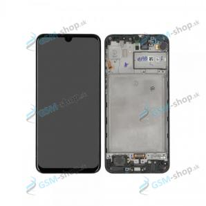 LCD displej Samsung Galaxy M31 (M315) a dotyk s krytom čiernym Originál