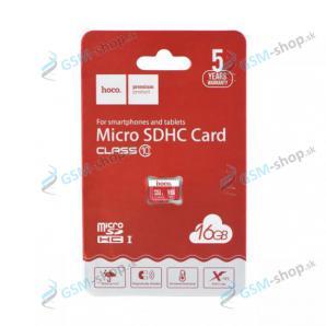 Pamäťová karta HOCO MicroSDHC 16 GB trieda 10