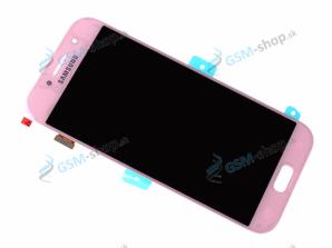 LCD Samsung Galaxy A5 2017 (A520) a dotyk ružový Originál