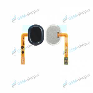 Flex Samsung Galaxy A40 (A405) a home tlačidlo čierne Originál
