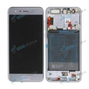 LCD Huawei Honor 9 a dotyk šedý s krytom Originál