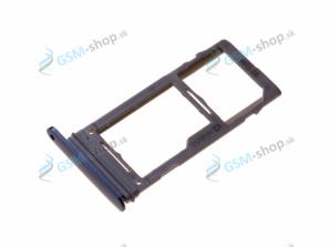 Sim a microSD držiak Samsung S9 Plus (G965) modrý Originál