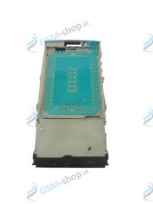 Stred Nokia X3-02 predný fialový Originál