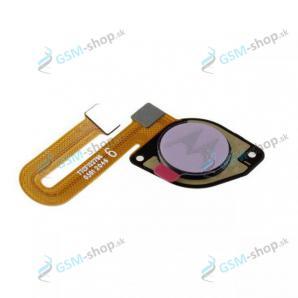 Flex Motorola Moto G10 (XT2127) a snímač odtlačku biely Originál