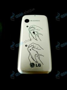 Kryt LG GS290 batérie strieborný Originál