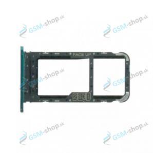 Sim a SD držiak Motorola Moto G8 Power Lite (XT2055) bledo modrý Originál