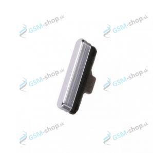 Tlačidlo Samsung Galaxy A80 (A805) bočné biele Originál