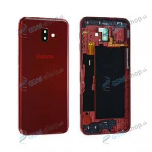 Kryt Samsung Galaxy J6 Plus (J610) batérie červený Originál