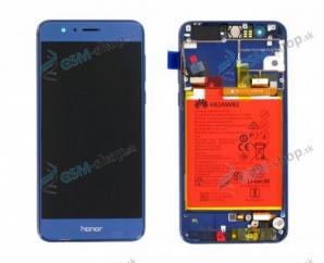 LCD Huawei Honor 8 a dotyk s krytom modrým Originál