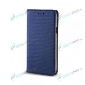 Púzdro LG K42 knižka magnetická modrá