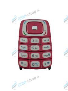 Klávesnica Nokia 6103 červená Originál