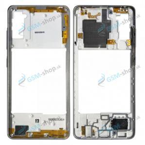 Stred Samsung Galaxy A41 (A415F) strieborný Originál