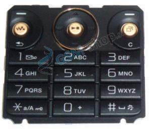 Klávesnica SonyEricsson W660i čierna Originál