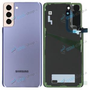 Kryt Samsung Galaxy S21 Plus 5G (G996) batérie fialový Originál