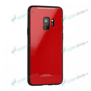 Ochranný kryt GLASS Samsung Galaxy J6 Plus 2018 (J610) červený