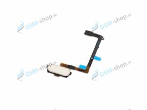 Flex Samsung Galaxy S6 G920F a home tlačidlo biele Originál