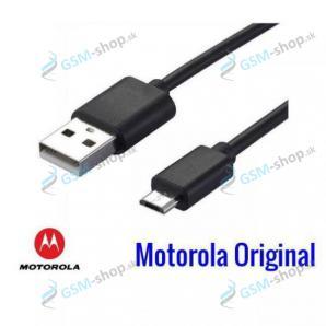 Datakábel Lenovo Motorola microUSB čierny neblister Originál