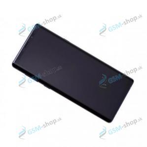 LCD Samsung Galaxy Note 9 (N960) a dotyk s krytom modrým Originál