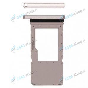 MicroSD držiak Samsung Galaxy Tab A7 10.4 WiFi (T500) zlatý Originál