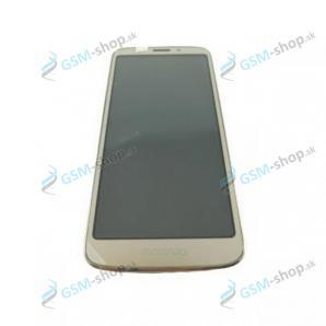 LCD Motorola Moto E5 Play (XT1920) a dotyk zlatý s krytom Originál